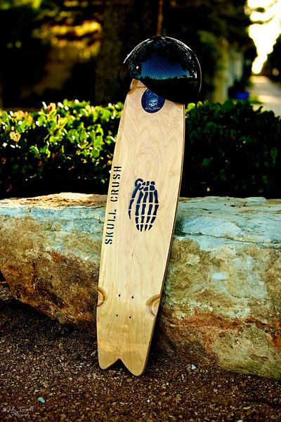 Skull Crush Skateboard