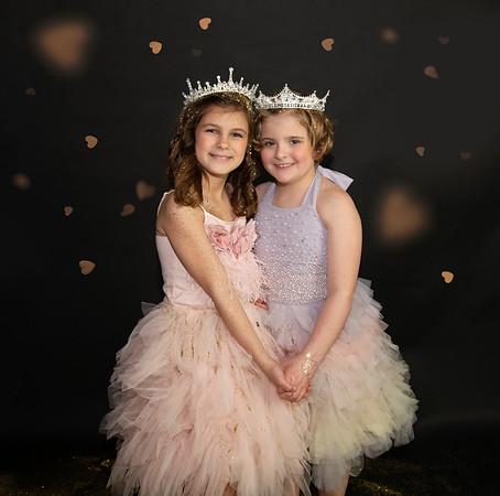 Cassie's girls glitter session