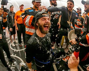 2021 Kelly Cup Championship - Locker Room Celebration