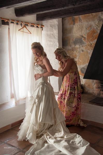 Wedding in Casares