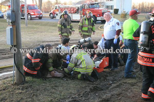 2/19/17 - Onondaga kitchen fire, 5205 Bellevue Rd