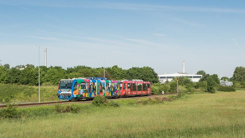 Rurtalbahn RS1 in Linnich.