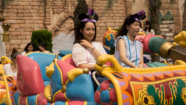 Tokyo Disney Resort, Tokyo Disneyland, Tokyo DisneySea, Tokyo Disney Sea, Arabian Coast, Jasmine's Flying Carpets, Jasmine, Flying, Carpets, Aladdin