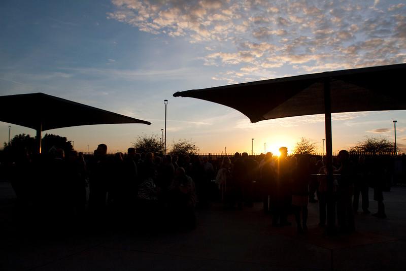 Dinner on the Diamond, Peoria Stadium, Peoria, Arizona. Photographed by Dave Martinez, 2012.