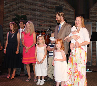 Molly Geesey Crawford Baby Dedication