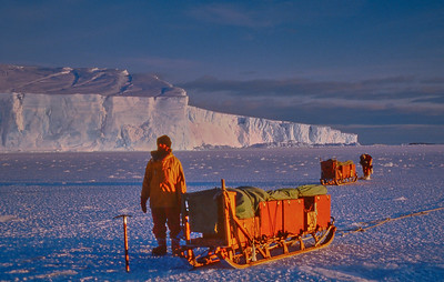 Antarctic trips 1984 to 1993