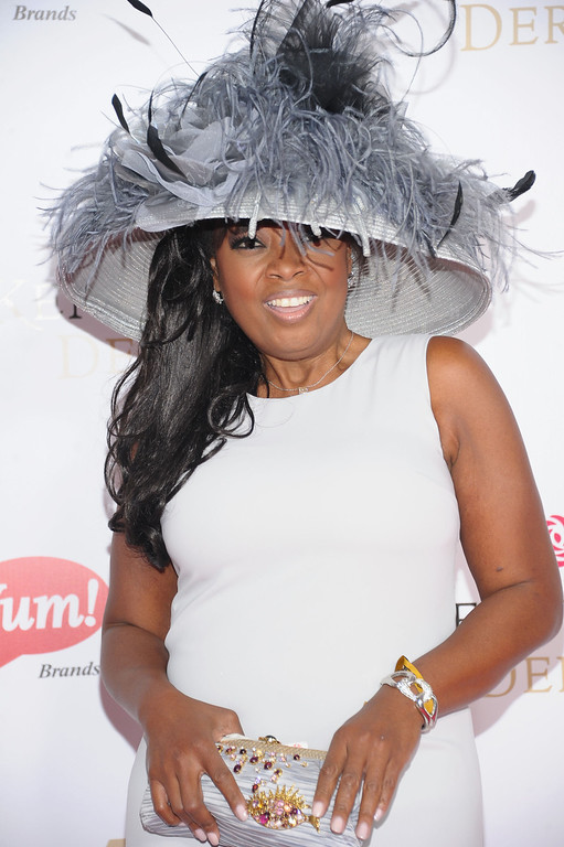. LOUISVILLE, KY - MAY 04:  Star Jones attends the 139th Kentucky Derby at Churchill Downs on May 4, 2013 in Louisville, Kentucky.  (Photo by Michael Loccisano/Getty Images)