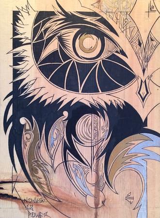 EZRA CONKLIN ORIGINAL ART