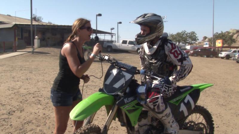 Matt Fox - Moto #1 - Winner College Boy Class - #3 2011 Hot Summer Nights - Perris Raceway.MTS