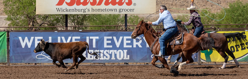 National Team Roping at Rancho Rio Wickenburg Arizona