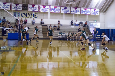 10-04-12 JV Volleyball at Calvary
