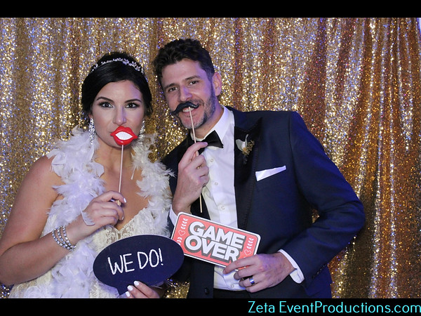 Christine & Oscar, Wedding Photo Booth Pictures
