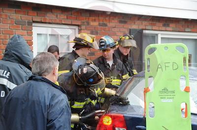 Amityville F.D. MVA w/ Entrapment Broadway and Avon Pl. 12/9/12