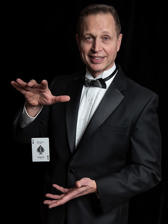 Magician David Chandler