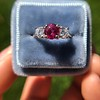 1.71ctw Ruby and Diamond Trilogy Ring 15