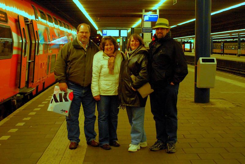Steve, Sandy, Karen, Ed (I'm the one in the cool hat ...).