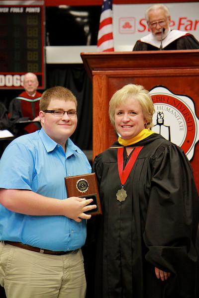 56th Annual Academic Awards Day Ceremony. Mathematics Education Award: Andrew John Bridges