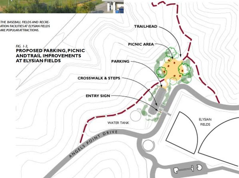 2006, Elysian Fields Improvements Map