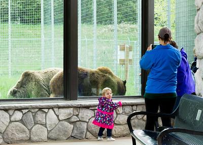 2018 May Pascale, Kat, Kathy and Warren Billings Zoo