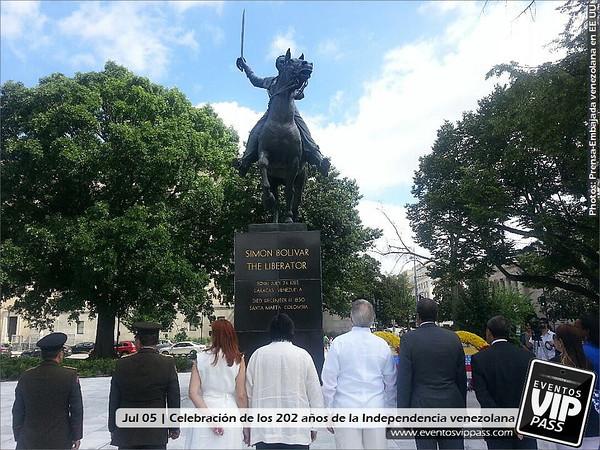 Celebración de los 202 años de la Independencia venezolana | Fri, Jul 05