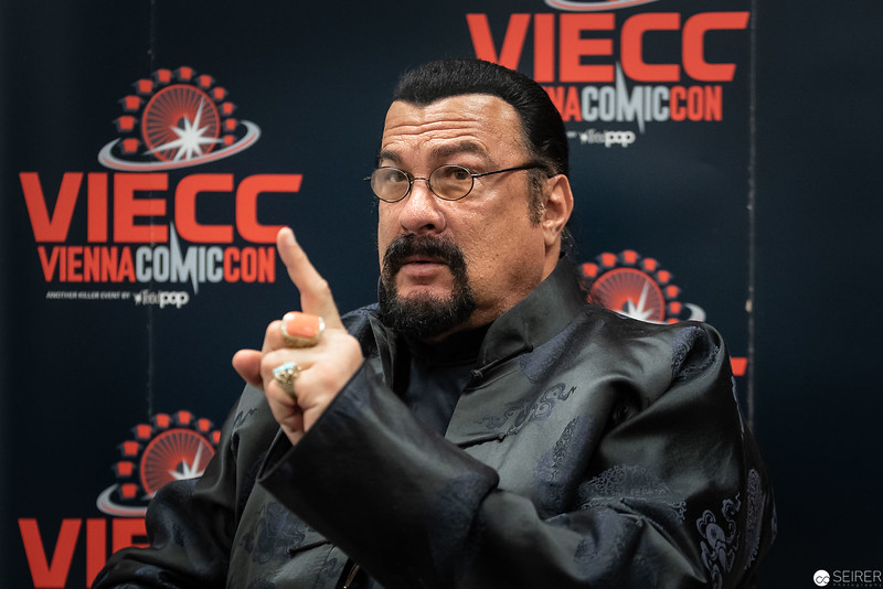 Steven Seagal at Vienna ComicCon 2019 VIECC