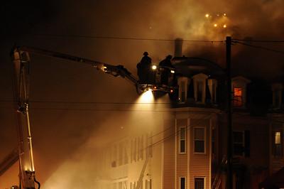 Manchester Apartment Fire