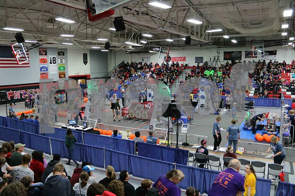 Robotics FIRST In Michigan District Jackson Competition 3-22-19