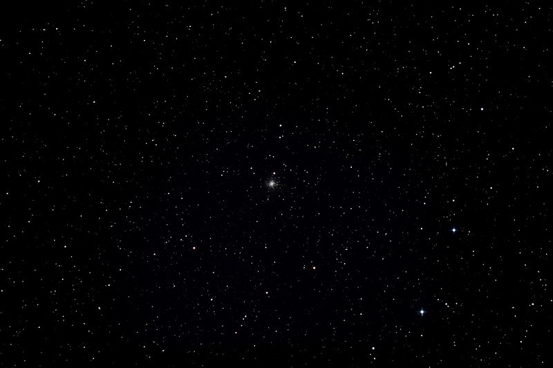 Caldwell 47 - NGC6934 - Globular Cluster in Delphinus - 17/08/2012 (Processed stack)