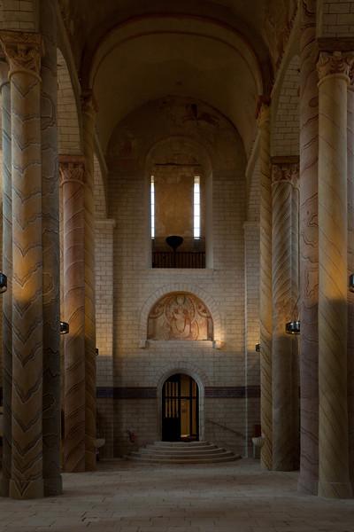 SaintSavin sur Gartempe Entrance