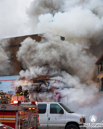 3 Alarm Commercial Building Fire - 1783 Westchester Ave, Bronx, NY - 1/28/21