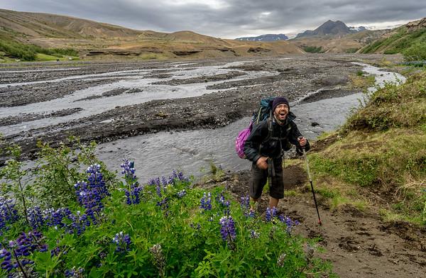Day 13 - Laugavegur Trek: Trek to Thorsmork