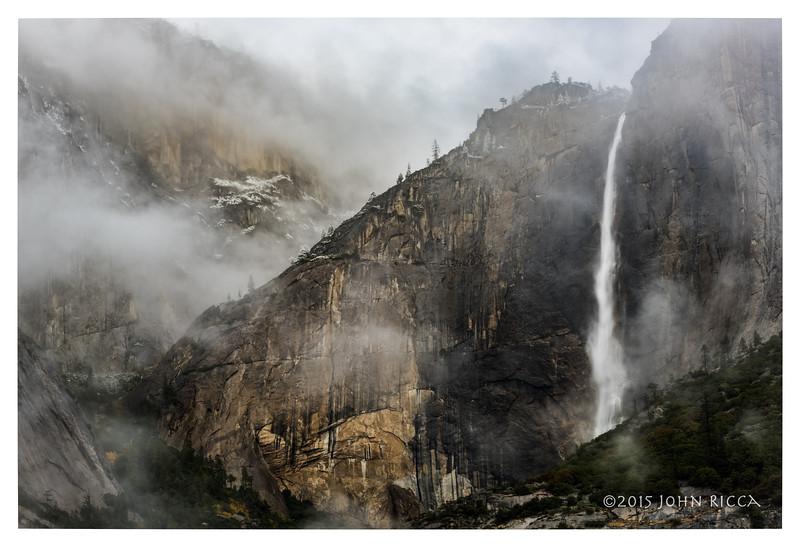Yosemite Falls In Clouds 1.jpg