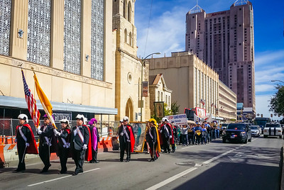 San Antonio Missionary Image Our Lady of Guadalupe Procession January 25 2015