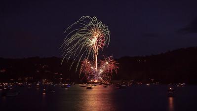 2015 Fireworks Lake Glenville