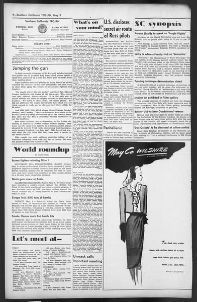 The Trojan, Vol. 35, No. 113, May 03, 1944