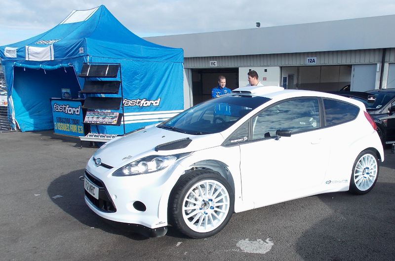 Its first outing at Ford Fair 2013, was on the Fast Ford magazine stand