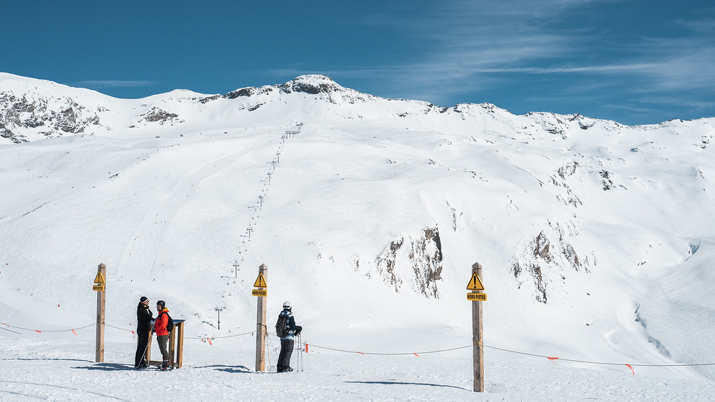 Glaciar Val d'Isère