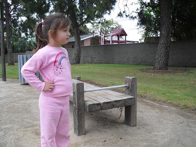Exercising at Anaconda Park