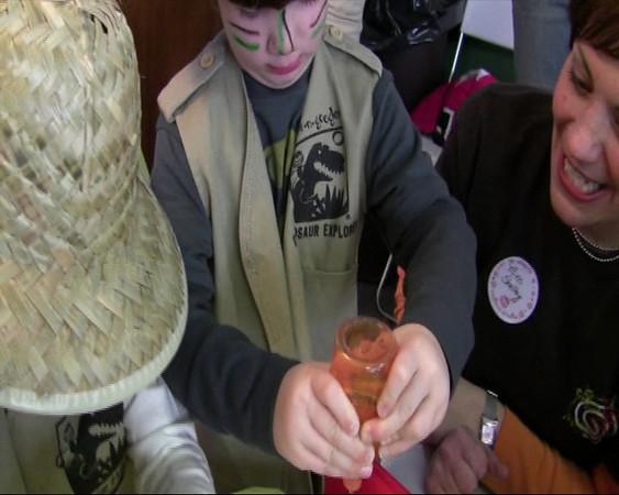 12.06.08 Zane's Dinosaur Birthday Party - Part Three