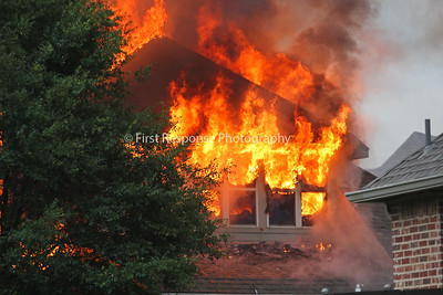 Allen Texas. Mutual Aid residential structure fire. Rachel's Ct. 5/29/16