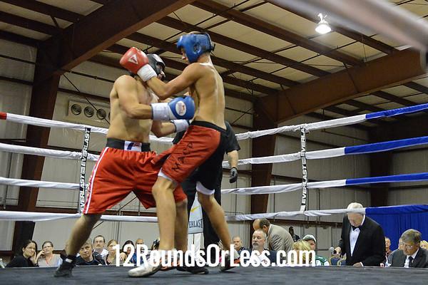 Bout #2  Michael Jantorno (Parkersburg, WV) vs Travis Layton (Morgantown, WV)  145 Lbs.