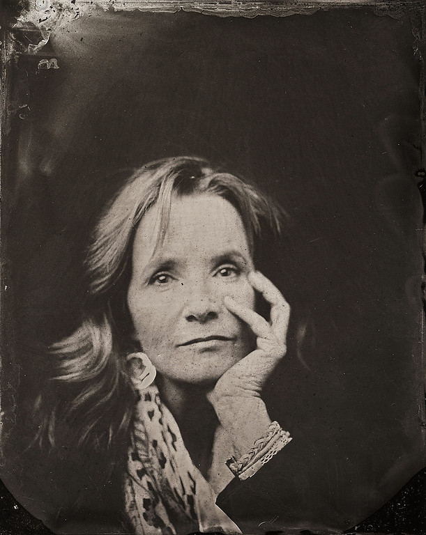 . Lea Thompson poses for a tintype (wet collodion) portrait at The Collective and Gibson Lounge Powered by CEG, during the 2014 Sundance Film Festival in Park City, Utah. (Photo by Victoria Will/Invision/AP)