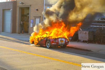 Railroad Ave Car Fire 11/13/16