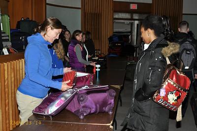 Senior Trip -- Luggage Day 4-30-14BroRoger