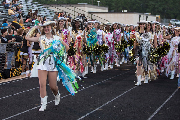 Homecoming - Drill Team 2013