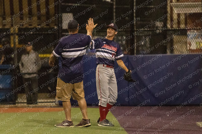 2018-07-09 Aviators vs. LI Baseball