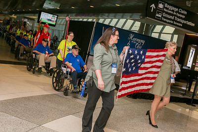 Honor Flight Houston Sendoff