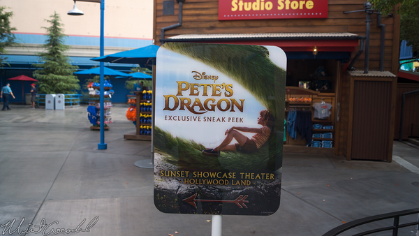 Disneyland Resort, Disney California Adventure, Hollywood Land, Hollywood, Land, Pete, Pete's, Dragon, Sunset, Showcase, Theater, Sneak, Peek