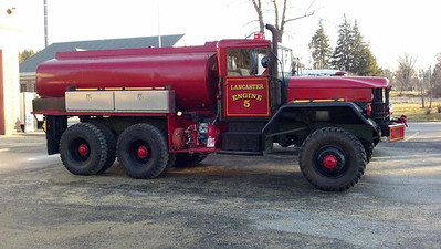 Engine 5 - 1980 AM General 6x6 Tanker