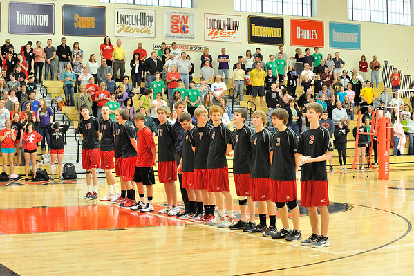 Lincoln-Way Central Boys Varsity Volleyball (2012)
